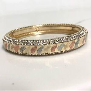 Jewelry - 18k Gold Filled Elephant Bangle